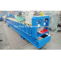 Wholesale Aluminum Single Layer Roofing Sheet Roll Forming Machine , Galvanized Board from china suppliers