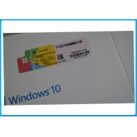 Quality Microsoft Activation Online Windows10 Coa Sticker Pro DVD/USB Retail Pack for sale