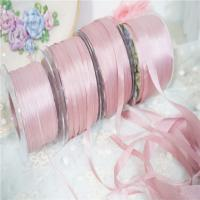 China 100% pure silk embroidery  crafts 4mm 7mm 13mm 25mm pure silk taffeta embroidery ribbon on sale