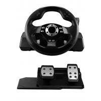 Wholesale Custom Real Force Feedback Steering Wheel PC Game Racing Wheel from china suppliers