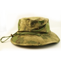 Wholesale 100% Cotton Camo Bucket Hat With String Custom Embroidery Blank Logo from china suppliers