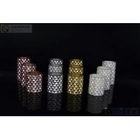 Wholesale 3 pcs Carved Electric Led Candles with 2*AA Battery Paint Color from china suppliers