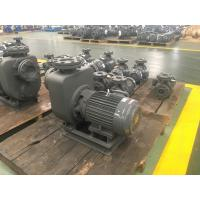 Wholesale Centrifugal Self - Priming Sewage Pump , Cast Iron Wastewater Treatment Pump from china suppliers
