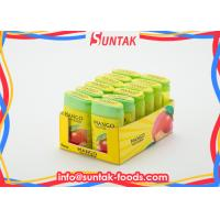 Promotional Sour Fruit Candy In Plastic Dispenser with Custom Logo