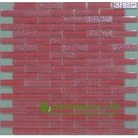Wholesale Anti-dust 300mm*300mm Glass Crystal Mosaic Tile for Kitchen/Bathroom wall,Fade resisitance from china suppliers