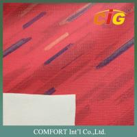 Wholesale Multicolor 1.0MM Printing PVC Artificial Leather / Auto Upholstery Fabric from china suppliers