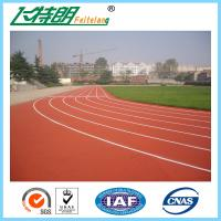 Wholesale Permeable Athletic Rubber Running Track Elastic Sports Field Material from china suppliers
