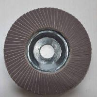 China Plastic backing falp disc for metal on sale