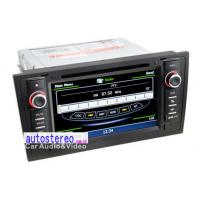 Wholesale Audi A6 S56 Double Din Car Stereo with Sat Nav , GPS Navigation Sat Nav from china suppliers