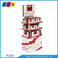Wholesale Cardboard point of purchase display shelf for chocolate from china suppliers