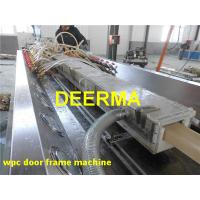 Wholesale Door Frame Wood Plastic WPC Production Line Window Frame Making Machine from china suppliers