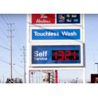 Wholesale Led Digit Segment LED Gas Price Signs / Led Gas Station Price Signs from china suppliers