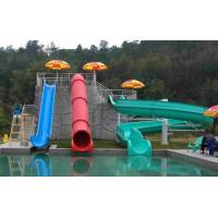 Wholesale Commercial Fiberglass Kids' Water Slides Water Park Equipment For Swimming Pool from china suppliers