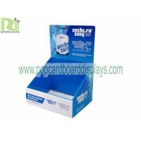 Quality Retail Display Stand Cardboard Counter Displays Of Sale Storage Box ENCD082 for sale