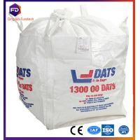 Buy cheap Plastic Jumbo White Pp Bulk Bag Recycled For Rice / Flour / Sugar from wholesalers