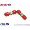 Buy cheap DIN/UPC Fiber Optic Adapter Single Mode SM 9/125 Multimode 50/125 from wholesalers