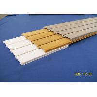 Wholesale PVC Slatwall Panels for Garage Basement Wall System Panelings from china suppliers