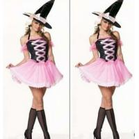 Wholesale Halloween costumes holloweenparty costume pink withc stage sexy charming costumes from china suppliers