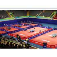 Wholesale Table Tennis Court PVC Vinyl Roll Flooring Anti - Slip With Glass Fiber Layer from china suppliers