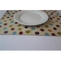 Buy cheap Yellow 100% Cotton Little Dot Dining Room Placemats Kitchen Table Mats from wholesalers