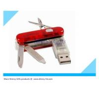 Wholesale swiss knife usb  MOQ 100pcs from china suppliers