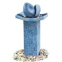 Quality Natural Split Cast Stone Water Fountains With  Fiberglass / Resin Material for sale