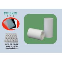 Wholesale White Printing PP Sheet Roll apply to Slap-up Elctronics Packages at 1.5 mm TH from china suppliers