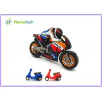 Wholesale Small Size Promotion Motorcycle Usb Flash Drive , Moto Car Soft Plastic Usb Drives / U Disk from china suppliers