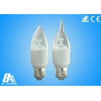 Wholesale Candle Bulb Light - E27-Transparent Cover AC90-264V  With 2800-6500k White from china suppliers