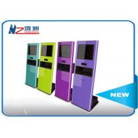 Wholesale RFID card reader interactive touch screen kiosk for payment , outdoor information kiosk from china suppliers