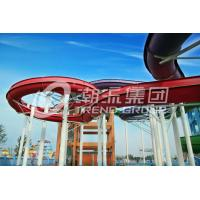 Wholesale Easy Installation Fiberglass Water Slides Space Bowl Water Slide For Water Park from china suppliers