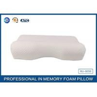 Wholesale Standard Size Slow Rebound Memory Foam Comfort Curve Pillow With Aloe Vera Pillow Case from china suppliers