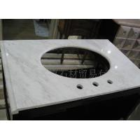 Wholesale Carrara White Bathroom Vanity Top (Lianyu-175) from china suppliers