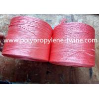 Buy cheap Colorful 400m/kg Banana Twine Twisted and Split Film Fibrillate Virgin PP Material from wholesalers
