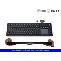 Wholesale Waterproof 2.4GHz Wireless Keyboard with Function Keys , Layout Customized from china suppliers