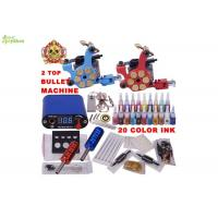 Wholesale 2pcs Bullet Machine Professional Tattoo Kits With 20 Samo Colors Ink For The Artists from china suppliers