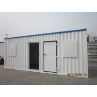 Wholesale modular prefab shipping container house stacked site refugee camp from china suppliers
