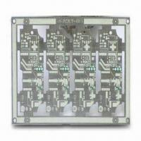 Buy cheap 4-layered High Frequency PCB with PTFE Base Material for Telecom, 0.8mm Thickness from wholesalers