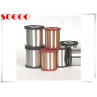 CuNi1 CuNi14 Nickel Alloy Wire , Copper Coated Resistance Wire 0.6mm / 0.8mm Dia for sale
