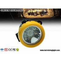 Wholesale 170g yellow GL-T2  wireless intrinsically safe mining headlight with 2.2Ah Li-ion Battery with PP meterial from china suppliers