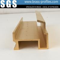 Wholesale Extruded Decorative Copper Brass Profiles from china suppliers