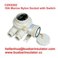 Wholesale 10A watertight plastic CZKS202 1144/R/FS marine rotary switch and socket from china suppliers