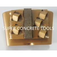 Quality PCD Scraper For HTC EZ Change Diamond Tools Segment Grinding Plate For Concrete Grinding for sale