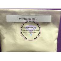 Wholesale Tetracaine HCl 99.5% Assay , Tetracaine HCl Powder for Pain Killing CAS 136-47-0 from china suppliers