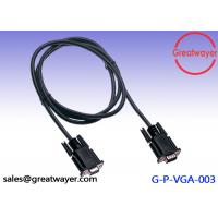 Wholesale Nickel Plated HD 15pin Wire Harness Cable , 3+6 VGA to VGA Cable for Projector / LCD from china suppliers