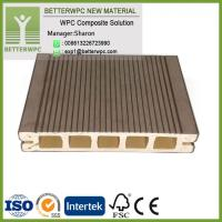 Quality China Outdoor Waterproof Planks WPC Wood Plastic High Quality Composite Decking for sale