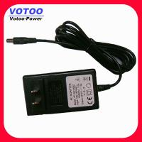 Wholesale Rack Mount CCTV Camera Power Adapter Supply 12V 2A 100 - 240VAC from china suppliers
