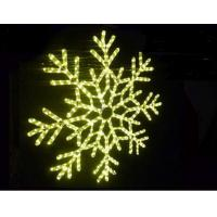 Wholesale led christmas snowflake rope light from china suppliers