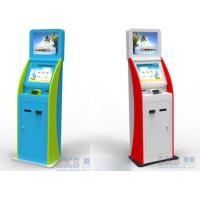 Wholesale Hotel Bill Payment Kiosk With Dual Screen Check In Kiosks / 19inch LCD Display from china suppliers