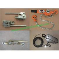 Wholesale High quality Chain Hoist,3 Ton Manual Hoists/Ratchet Puller low price from china suppliers